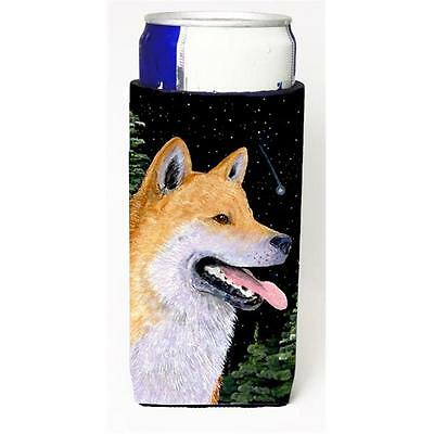 Carolines Treasures Shiba Inu Michelob Ultra bottle sleeves For Slim Cans