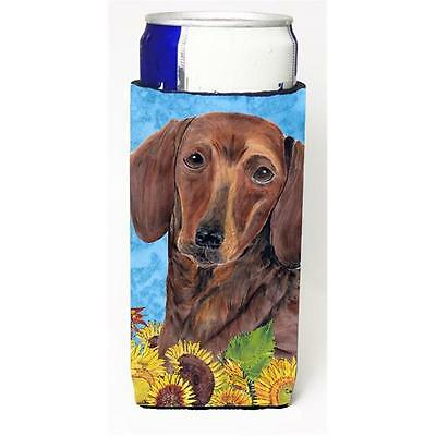 Carolines Treasures Dachshund Michelob Ultra bottle sleeves For Slim Cans 12 oz.