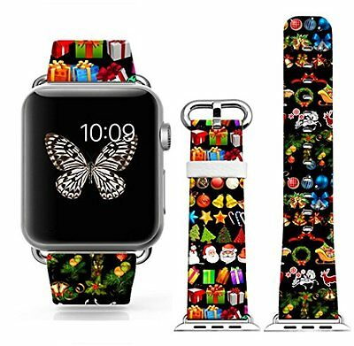 CHRISTMAS JOY Wristband Band Strap Accessories For iWatch 42MM APPLE WATCH