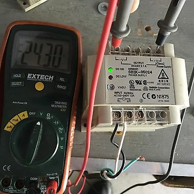 OMRON S82K-05024 POWER SUPPLY used but very clean