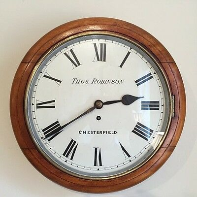 12'' Chesterfield Fusee wall clock   Ref a13842