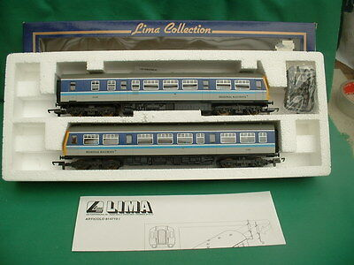 "Lima Class 101 Regional Railways 2-Car Dmu ""crewe"" New In Box"
