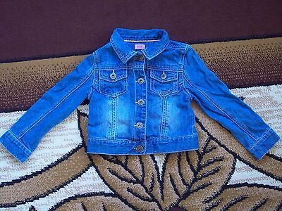 Girls Jeans jacket Age 3-4 Years.  Height 98 cm.