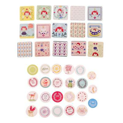 Assorted Stickers Labels for Cup Diary Books Scrapbook Envelopes Cards