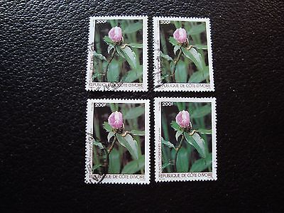 COTE D IVOIRE - timbre yvert/tellier n° 759 x4 obl (A28) stamp (A)