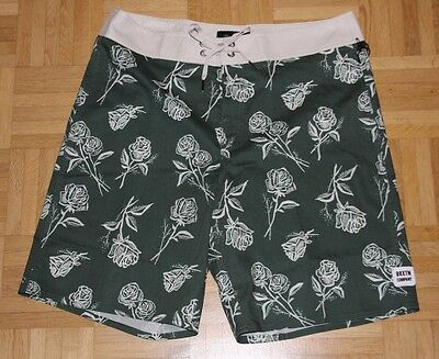 "Brixton Surf Short ""Barge Trunk"", forest green, Gr. 32"