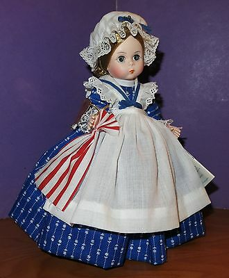 Vtg Madame Alexander Doll Betsy Ross Souvenir North Pole Storyland Collection