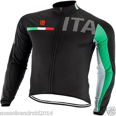 Windstopper Cycling Jacket Fleece Thermal Winter Giubbino Mtb Ciclismo Invernale