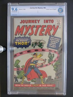 Journey Into Mystery #83 -NEAR MINT- CBCS 9.6 NM+ Marvel 1966 - 1st Thor - GRR!