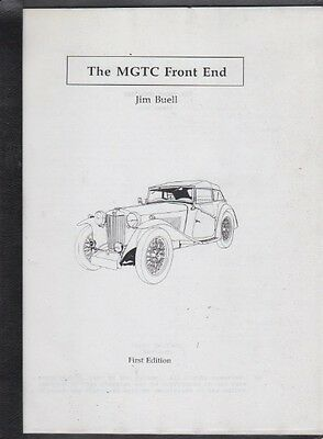 Mg The Mg Tc Front End By Jim Buell First Edition 1991 An Mg Tc Owners Must Have