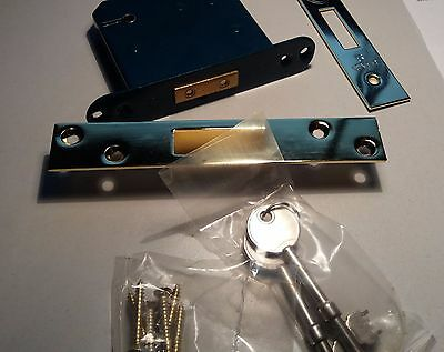 ACE Security 5 Lever Mortice Deadlock 64mm 2 Keys With Box Keep &Fixings