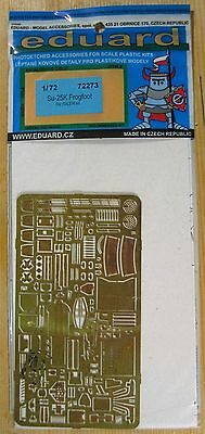 """1/72 Eduard Etched parts #72 273  for """"Sukhoi Su-25K Frogfoot"""", Neu, OVP"""