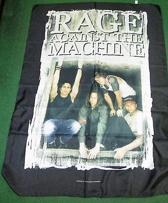 Rage Against The Machine Texile Poster Flag  Rare New Never Opened Picture Frame