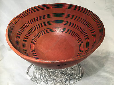 PRE-HISTORIC NATIVE AMERICAN POTTERY BOWL BOWL from WINGATE NEW MEXICO AREA
