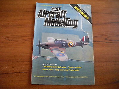 Scale Aircraft Modelling - August 1990 - Hawker Hurrican