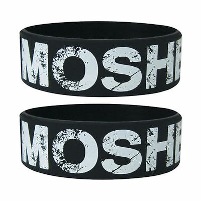 Official - MOSHER - Rubber Gummy Wristband