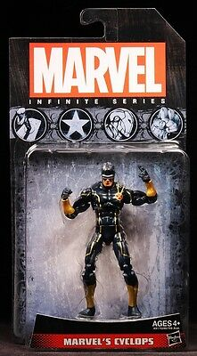 "2014 Hasbro Marvel Universe Infinite Series Marvel's Cyclops 3 3/4"" Figure Moc"