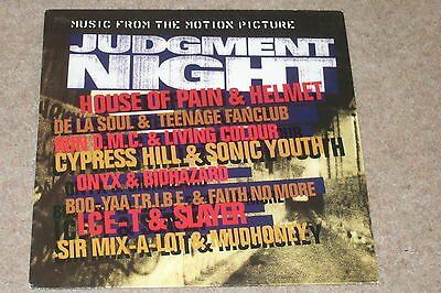 Judgment Night (Music From The Motion Picture) LP   1993   HIP HOP..RARE!!
