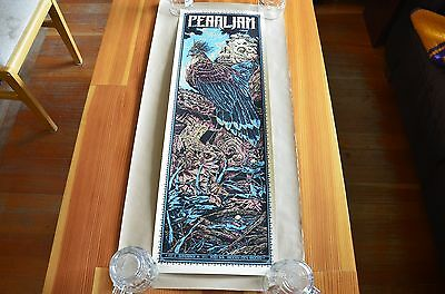 Pearl Jam poster Mexico City 11/24/11 Ken Taylor Artist Edition /150 MINT