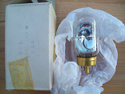General Electric Dcl 120V 150W Projection Lamp/bulb. New (Old Stock)