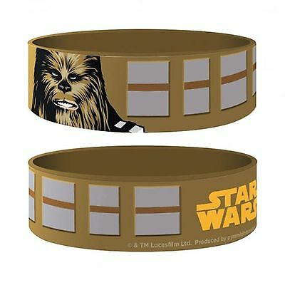 Official - Star Wars Chewbacca - Rubber Gummy Wristband