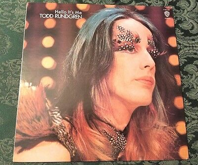 Todd Rundgren 1972 Hello Its Me (Lp) Japan Wb Release Never Played Rare