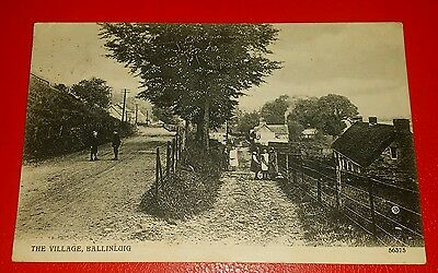 THE VILLAGE, BALLINLUIG - Early 1900's.