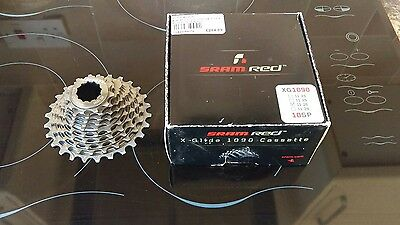 SRAM Red XG 1090 10 Speed Cassette 11-26T Ratio Minimal Use Force Rival