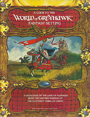 Guide to the World of Greyhawk - Fantasy Setting (1983)