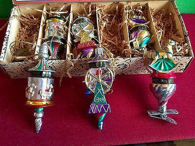 6 Mini Toy Fair Surprise Box Set Christmas Ornaments by Katherines Collection