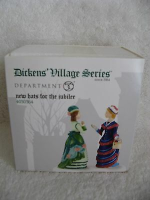 DEPT 56 - Dickens Village - NEW HATS FOR THE JUBILEE - NIB - #4030364