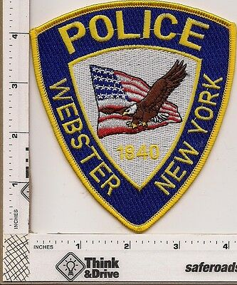 Webster  Police. New York.