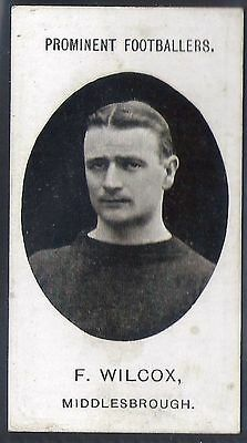 Taddy-Prominent Football Ers (No Footnote)- Middlesbrough - Wilcox