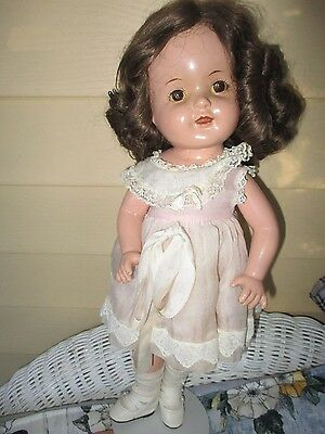 C1930's Arranbee Nancy Doll Composition 17 Inch