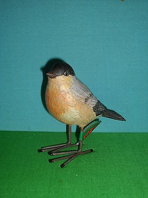 Robin Bird Figure with Metal Legs by Sullivan's New with Tag Retired Line