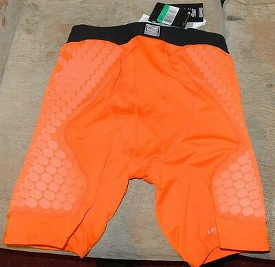 NIKE Pro Compression Combat Dri Fit Padded BASKETBALL Shorts PROTECT YOUR LEGS