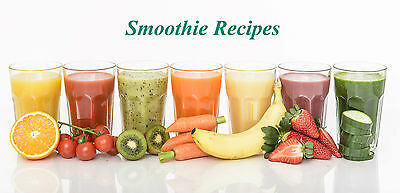 Over 200 Smoothies Recipes (eBook-PDF file)
