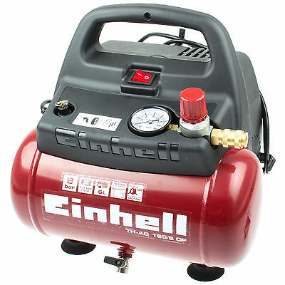 Einhell Compressed Air Mobil Oil-free Electric Compact Portable Mini Small