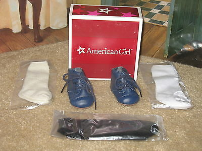 American Girl Addy's Shoes & Socks New in box