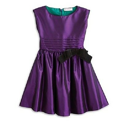 American Girl Purple Party Dress for Girls New Size 12