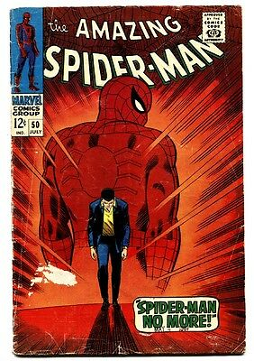 Amazing Spider-Man #50 comic book-first Kingpin-Silver-Age-marvel key