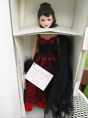 "Candy Spelling ""Cassandra""Limited Edition Fantasy Dolls-16"" w/box-coa"