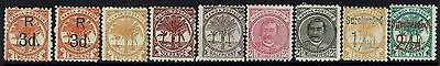 Samoa - 9 1800s Issues - Mint Hinged / Hinge Rems - 080716
