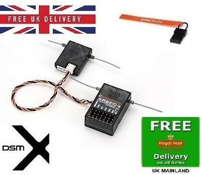 Spektrum AR6210 DSM-X 6-Channel Receiver+satellite + 2 month warranty