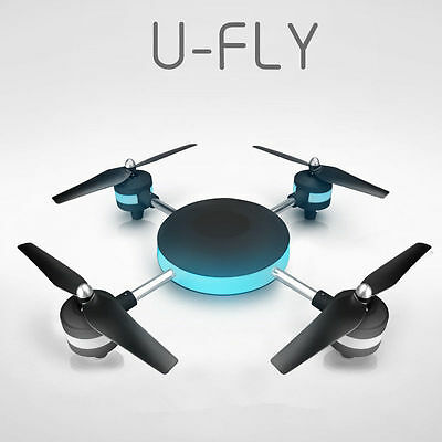Helicopter W606 Altitude Hold Headless Mode RC Quadcopter Lily U-FLY Black Ghost