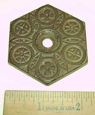 Antique Victorian Rosette for Ceiling / Plant / Chandelier Hook