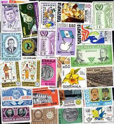 Guatemala 400 timbres différents