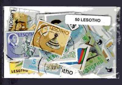 Lesotho 50 timbres différents
