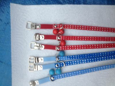 CAT COLLARS. x  6 ...SECONDS AND CHEAP