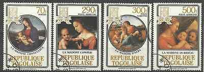 Timbres NOEL Togo 1150 PA512/4 o (4905)